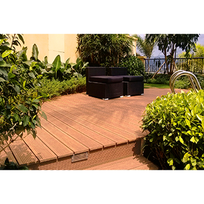 Image for dassoXTR Epic Cognac Rooftop Deck 1x6 Fused Exterior Bamboo Decking (G2 - Deck Plank)