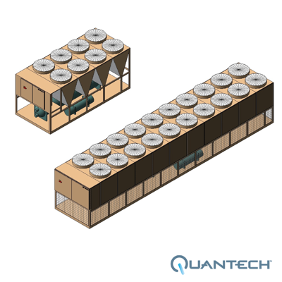 Image for QTC4 Air-Cooled Screw Chiller by Quantech