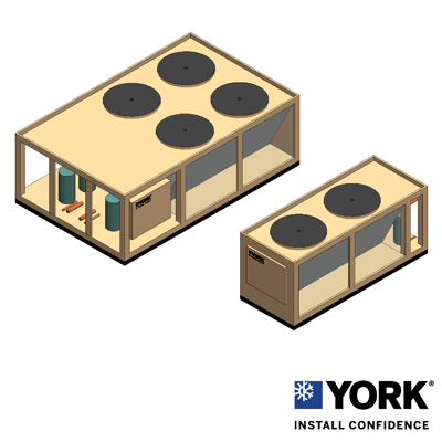 Image for YORK® YCUL Air-cooled Scroll Condensing Unit 15-80 TR (50-280 kW)