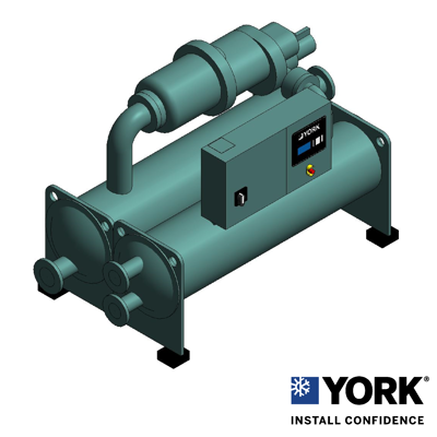 Image for YGWE Water Cooled Screw Chillers, Style A