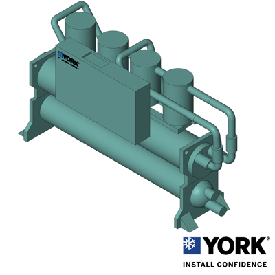 Image for YCWL Water-Cooled Scroll Liquid Chiller Style A