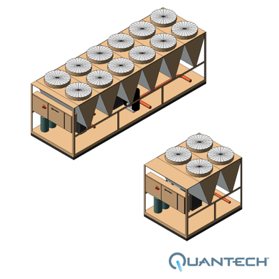 Image for QTC3 Air-Cooled Scroll Chiller by Quantech
