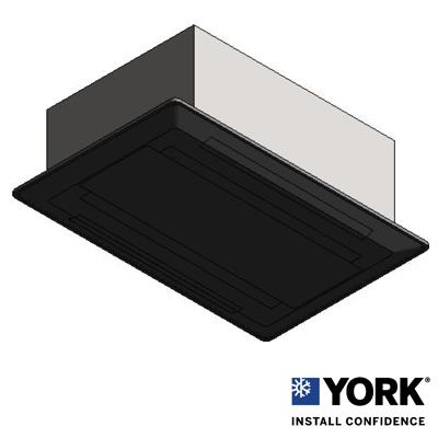 Imagem para YORK® VRF 2 Way Cassette Indoor Unit Variable Refrigerant Flow}