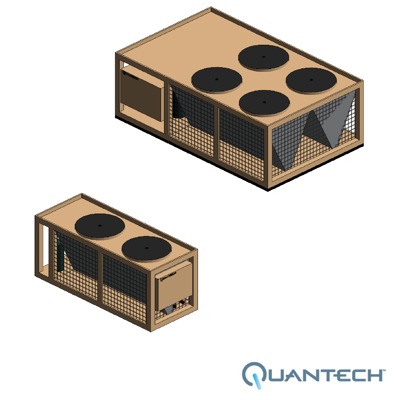 Image for QTC2 Air-Cooled Scroll Chiller by Quantech