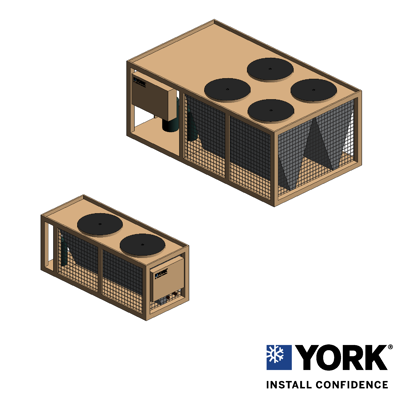 Image for YORK® YCAL Air-Cooled Scroll Chiller, 15 ton to 65 ton