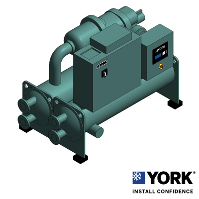 Image for YVWE VSD Water Coooled Screw Chiller Style A