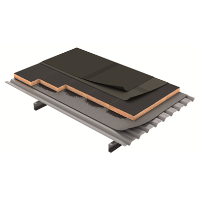 Image for DECK ROOF with bitumen waterproofing membrane (ES)
