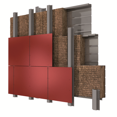 Image pour BANDROCK ROCKPANEL Metal facade (ES)