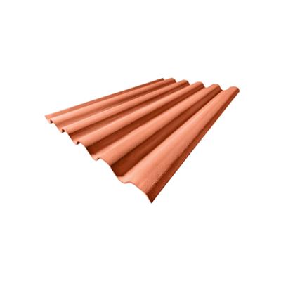 imagen para Bajo teja Curva 190 Rústico Arcilla