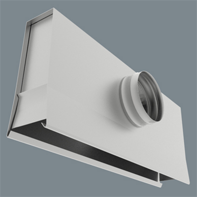 Image for Universal Plenum for Linear Slot Diffusers - UP-6600/UPI-6600