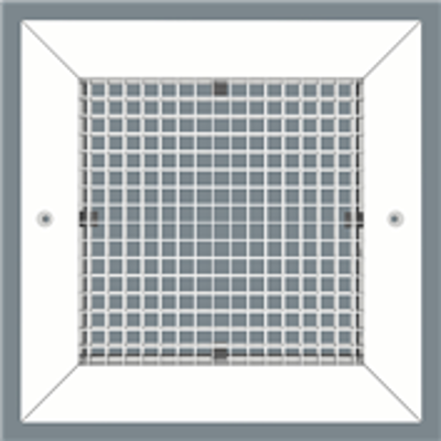 Image for Eggcrate Return Grille - Concealed Surface Mount - Extruded Aluminum Sidewall/Ceiling - Model CC5
