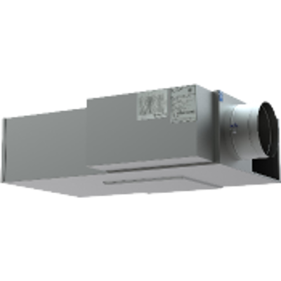 kép a termékről - Low Profile Parallel Fan Powered Terminal with Hot Water Reheat on Induction - FVL-600