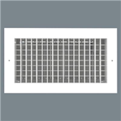 Image for Single Deflection Grille - Aluminum - Lay-In Mount - Model H4002-6 / V4002-6