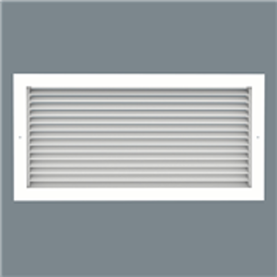 Image for Steel Return Grille - 45° Louvered Face - Lay-in - Model SRH-6