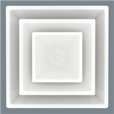 Image for Adjustable Square Cone Face Diffuser - Model 5700A