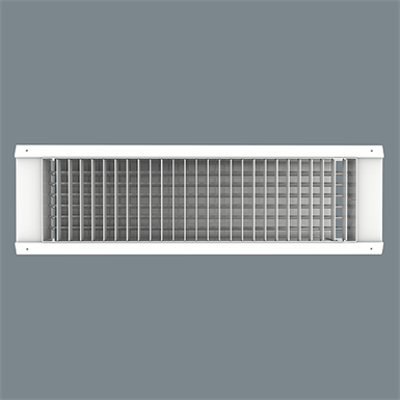 Image for Aluminum / Steel Spiral Duct Supply Grille - Model 4000PF