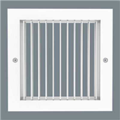 Image for Single Deflection Grille - Aluminum - Surface Mount - Model H4002-1 / V4002-1