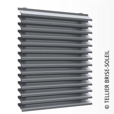 Image for Ventilated wall cladding with long slats - Façad'Ligne range