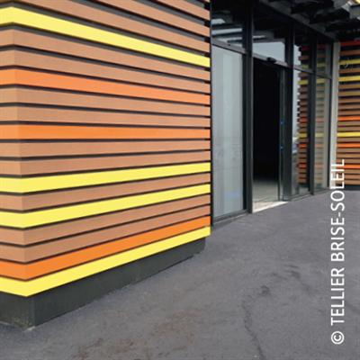 imazhi i Blade for facade cladding invisible fixing - Harmonie Façade Range