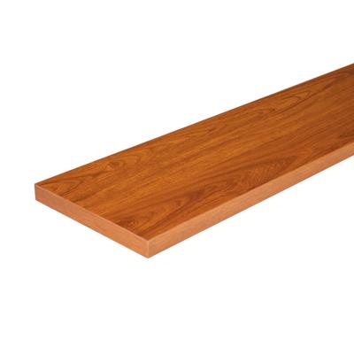 Image for Vanachai Wood Stair Tread Natural Teak
