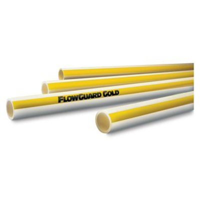 """Image for FlowGuard Gold® CPVC Pipe and Fittings, 1/2-2"""", CTS SDR 11"""