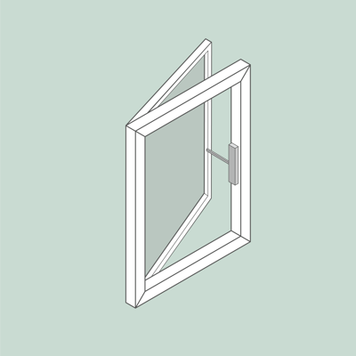 Image for Window Openers | Side hung | Facade | with demo window
