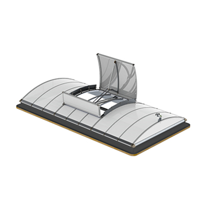 Image for LAMILUX Smoke Lifts Continuous Rooflight B