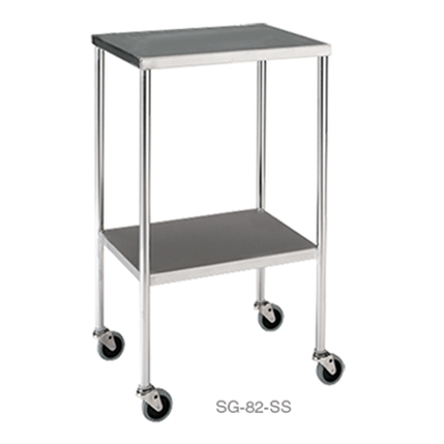Image for Pedigo Products SG-82-SS Prep Table With Lower Shelf