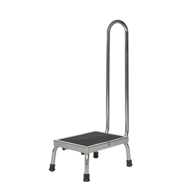 Image for Pedigo Products P-10-A-SS Step Stool with Handrail