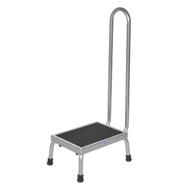 Image for Pedigo Products P-10-A Step Stool with Handrail