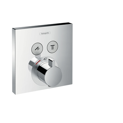 afbeelding voor ShowerSelect Thermostat for concealed installation for 2 functions 15763000