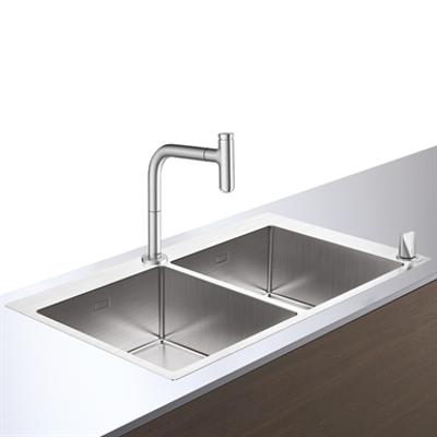 C71-F765-10 Sink combi 370/370 43203800图像