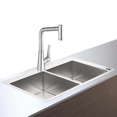 изображение для C71-F765-05 Sink combi 370/370 Select 43211800