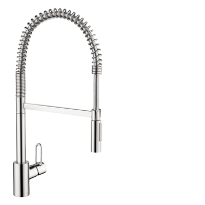 Immagine per Talis Single lever kitchen mixer 190 Loop with pull-out spray 04700005