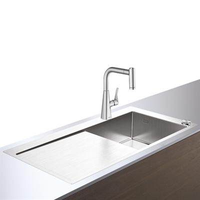 Immagine per C71-F450-02 Sink combi 450 Select with drainboard 43208800
