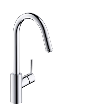 Image for M5214-H260 Single lever kitchen mixer with pull-out spout 73864000