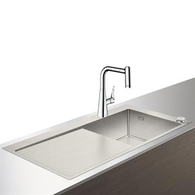 Immagine per C71-F450-02 Sink combi 450 Select with drainboard 43208000