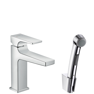 Immagine per Metropol Single lever basin mixer with lever handle with bidette hand shower 32522000