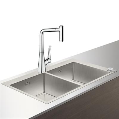 imagem para C71-F765-05 Sink combi 370/370 Select 43211000