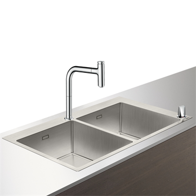 Immagine per C71-F765-10 Sink combi 370/370 43203000