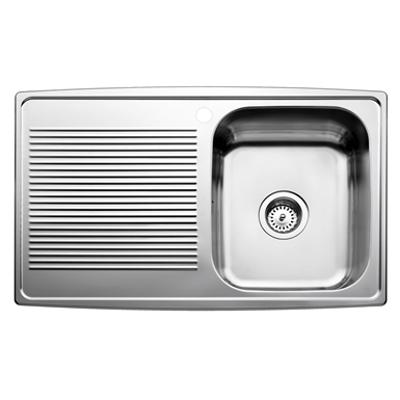 imagem para INTRA Horizon kitchen sink HZ815S50R, incl waste & water trap