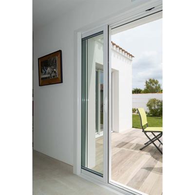 Image for 2-leaf 1-track Aluminium Pocket Window