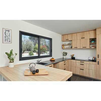 Image for 2-leaf 2-track Aluminium Sliding Window
