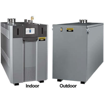 bild för NeoTherm: High Efficiency Commercial Condensing Hydronic Boiler / Volume Water Heater