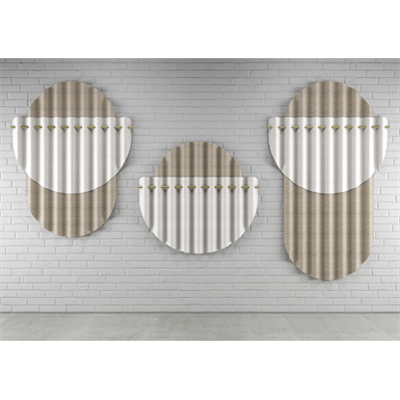 Image pour Gommette – Acoustic screen in Varian - Wall Mounted