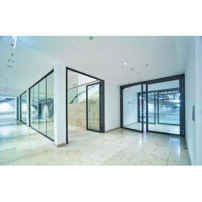 Image for HL 330 S-Line steel tubular frame fixed glazing