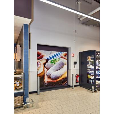 Image for V 2012 – Supermarket, flexible high-speed door