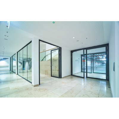 Image for HL 330 N-Line steel tubular frame fixed glazing