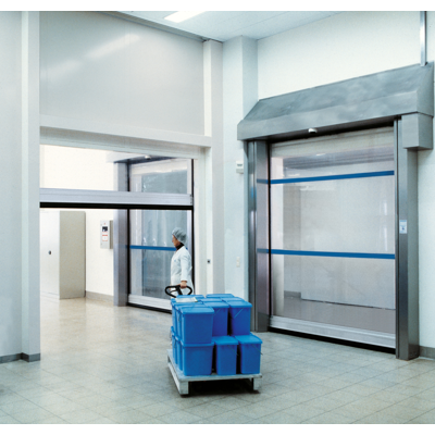 Image for V 3015 Clean – Clean room, flexible high-speed door