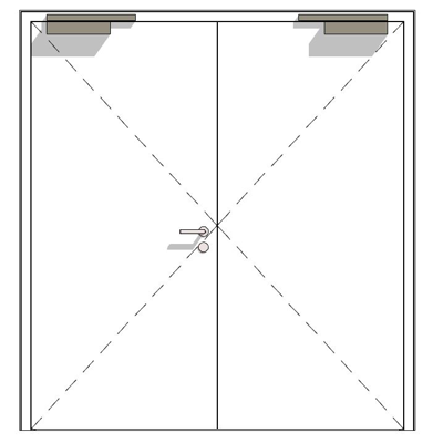 afbeelding voor OIT 40-2, reinforced internal door